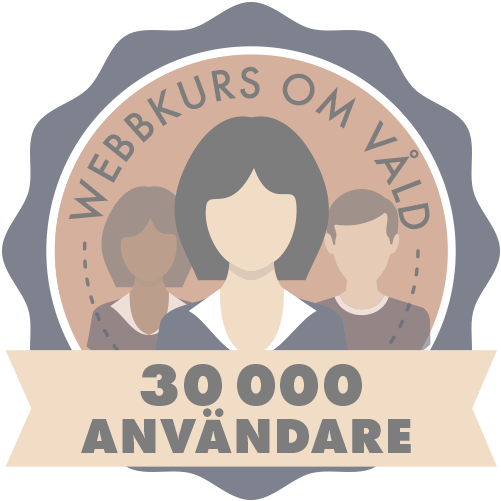 Nu har vi haft trettio tusen användare av webbkursen